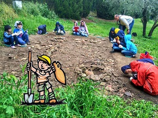 archaeological excavation for kids